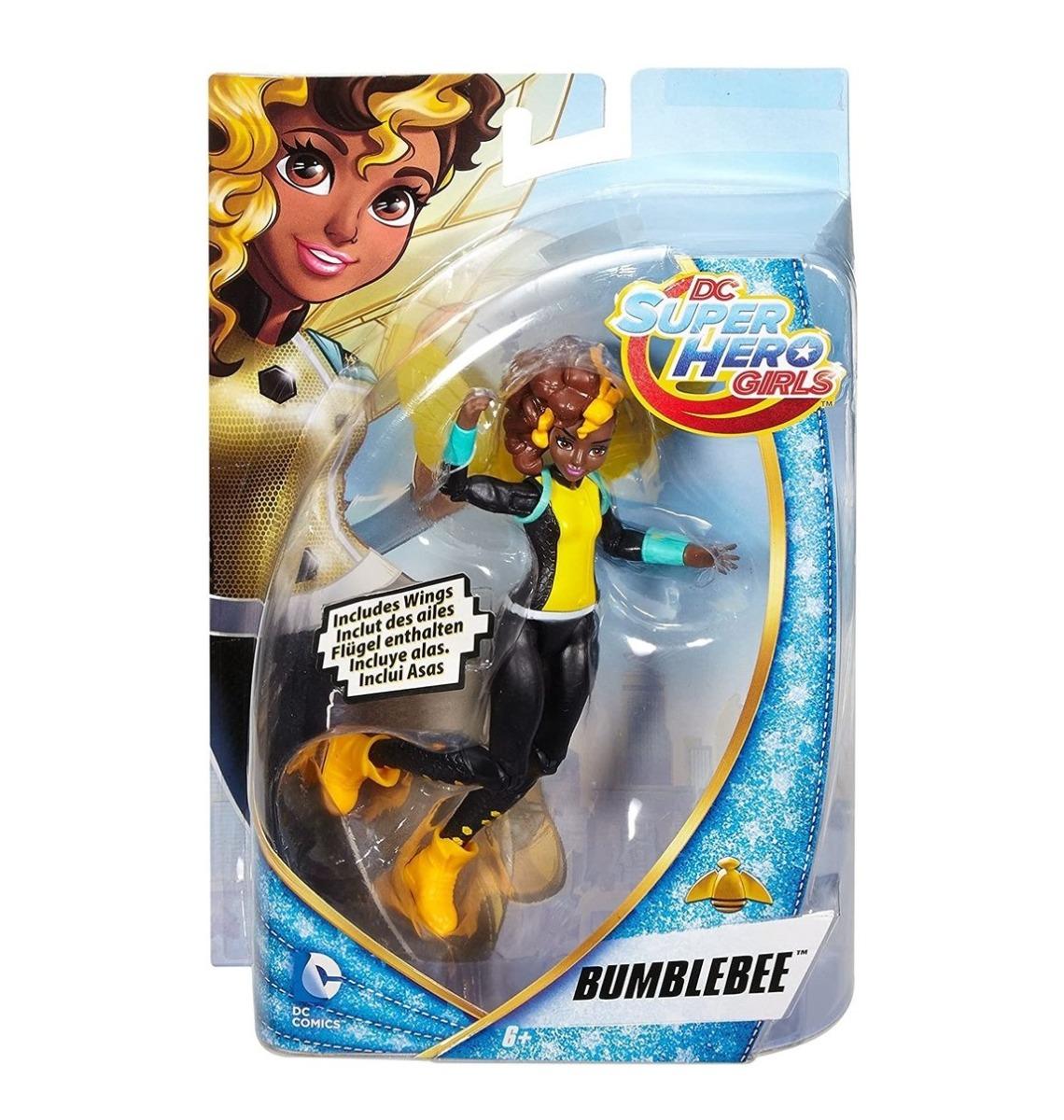Figurina Mattel Super Hero Girls Bumble Bee imagine hippoland.ro