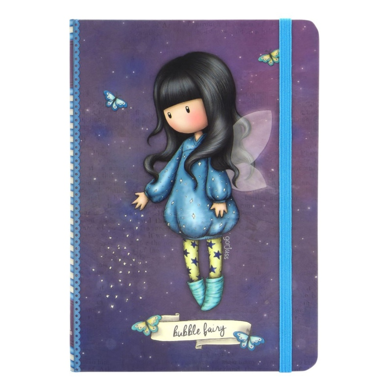 Agenda cu coperti tari Gorjuss Bubble Fairy imagine hippoland.ro