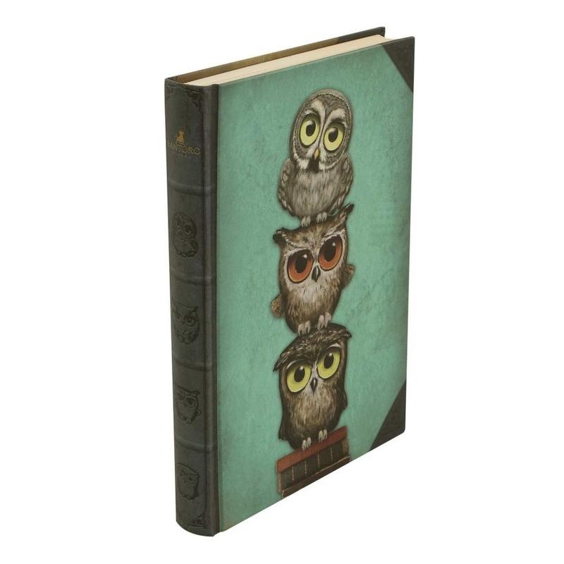 Agenda cu coperti tari Grumpy Owl imagine hippoland.ro