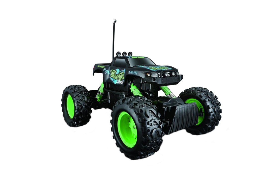 Masinuta cu telecomanda Maisto Tech Jeep Rock Crawler imagine hippoland.ro