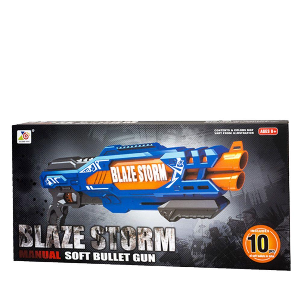 Arma de joaca cu 10 gloante din spuma Blaze Storm ZC7111 imagine hippoland.ro