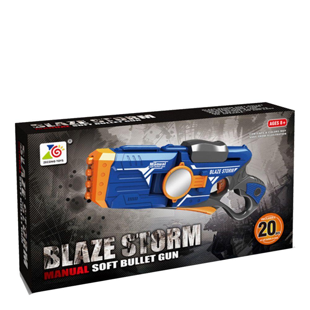 Arma de joaca cu 20 de gloante din spuma Blaze Storm ZC7086 imagine hippoland.ro