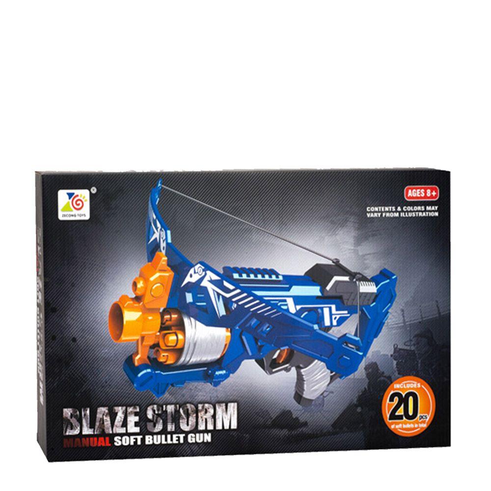 Arma de joaca cu 20 de gloante din spuma Blaze Storm ZC7107 imagine hippoland.ro