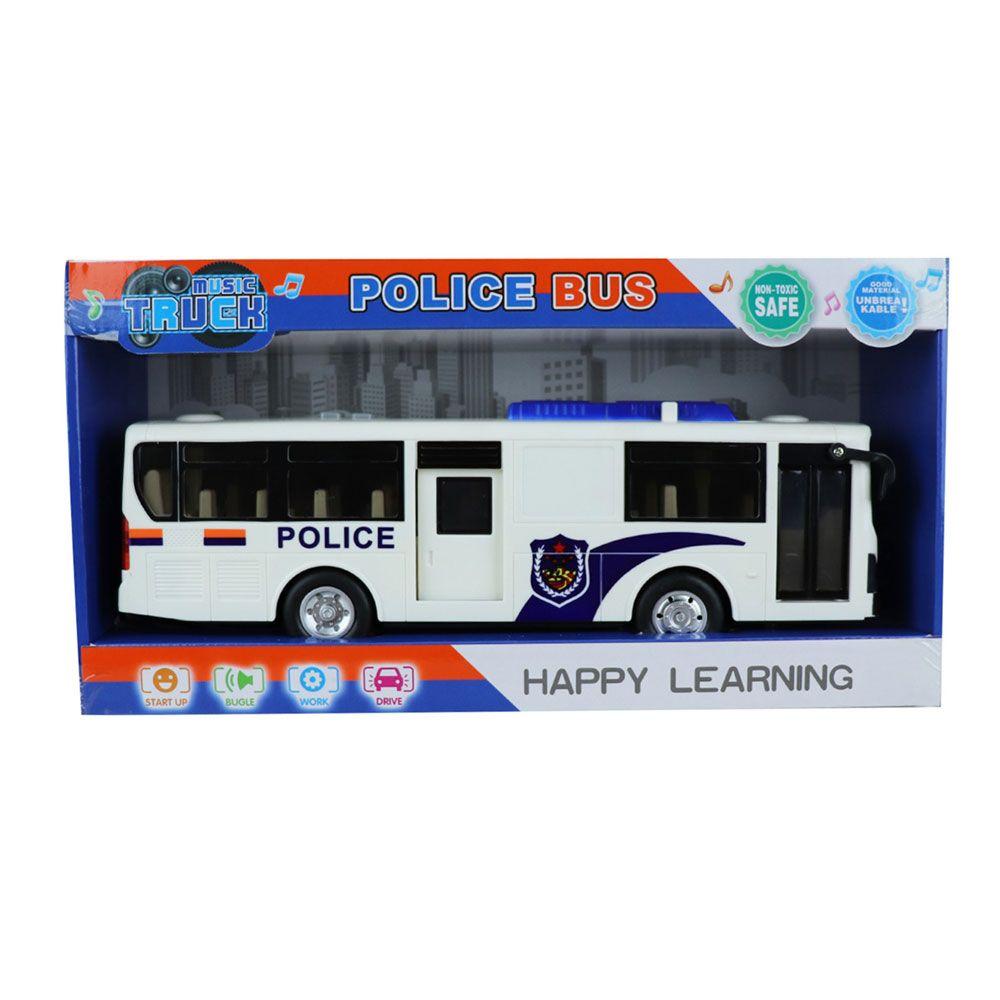 Autobuz de politie cu lumini si sunete Ocie imagine hippoland.ro