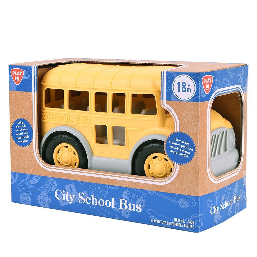 Autobuz de scoala PlayGo City imagine hippoland.ro