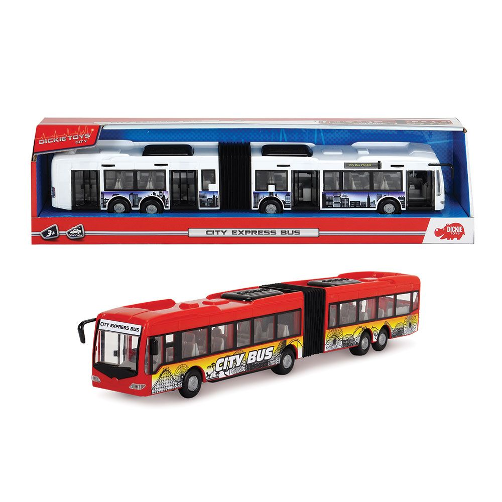 Autobuz Dickie City Express 46 cm imagine hippoland.ro