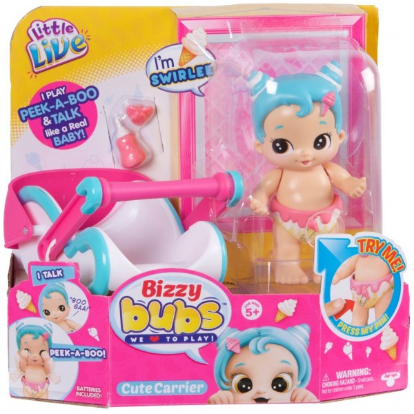 Bebelus cu functii si accesorii Little Live Babies imagine hippoland.ro