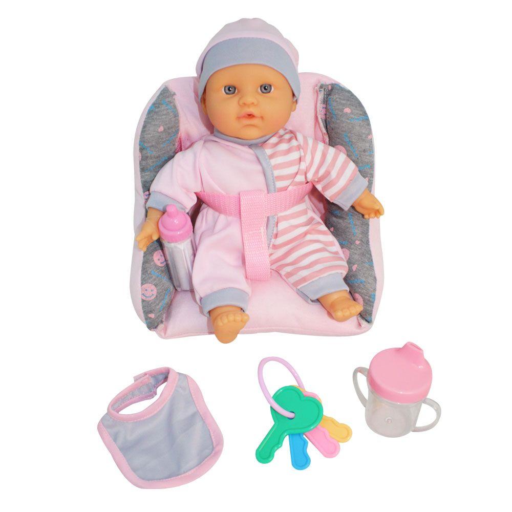 Bebelus cu scaun auto Jasmine 26