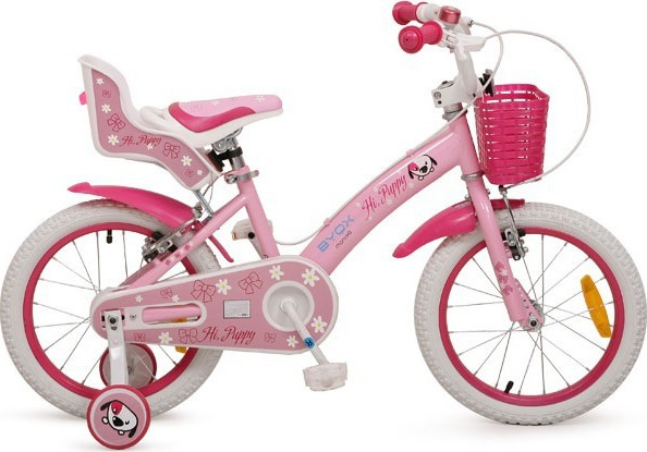 Bicicleta Byox Puppy 16 inch Light Pink