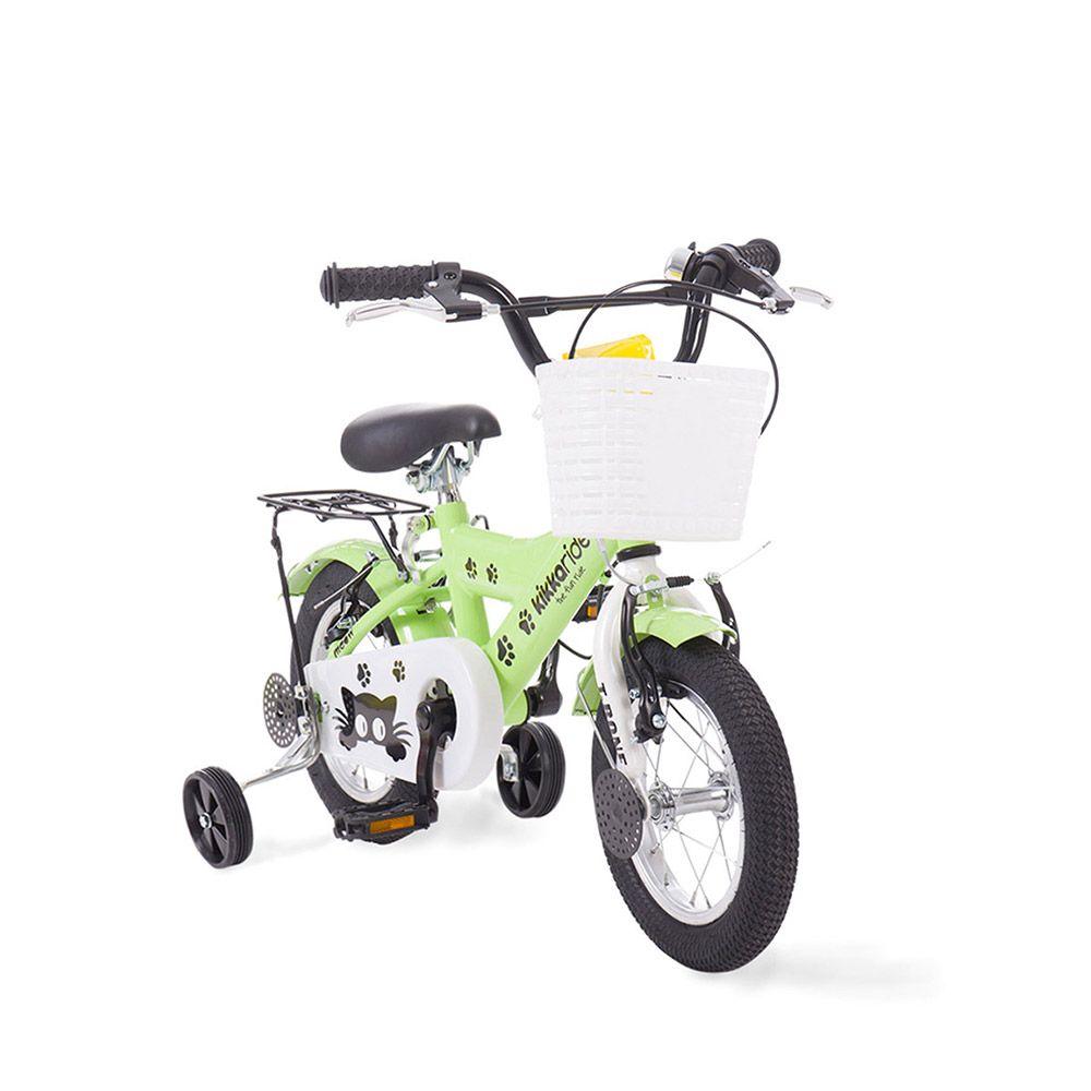 Bicicleta Kikka Boo T-Bone 12 inc Green imagine hippoland.ro