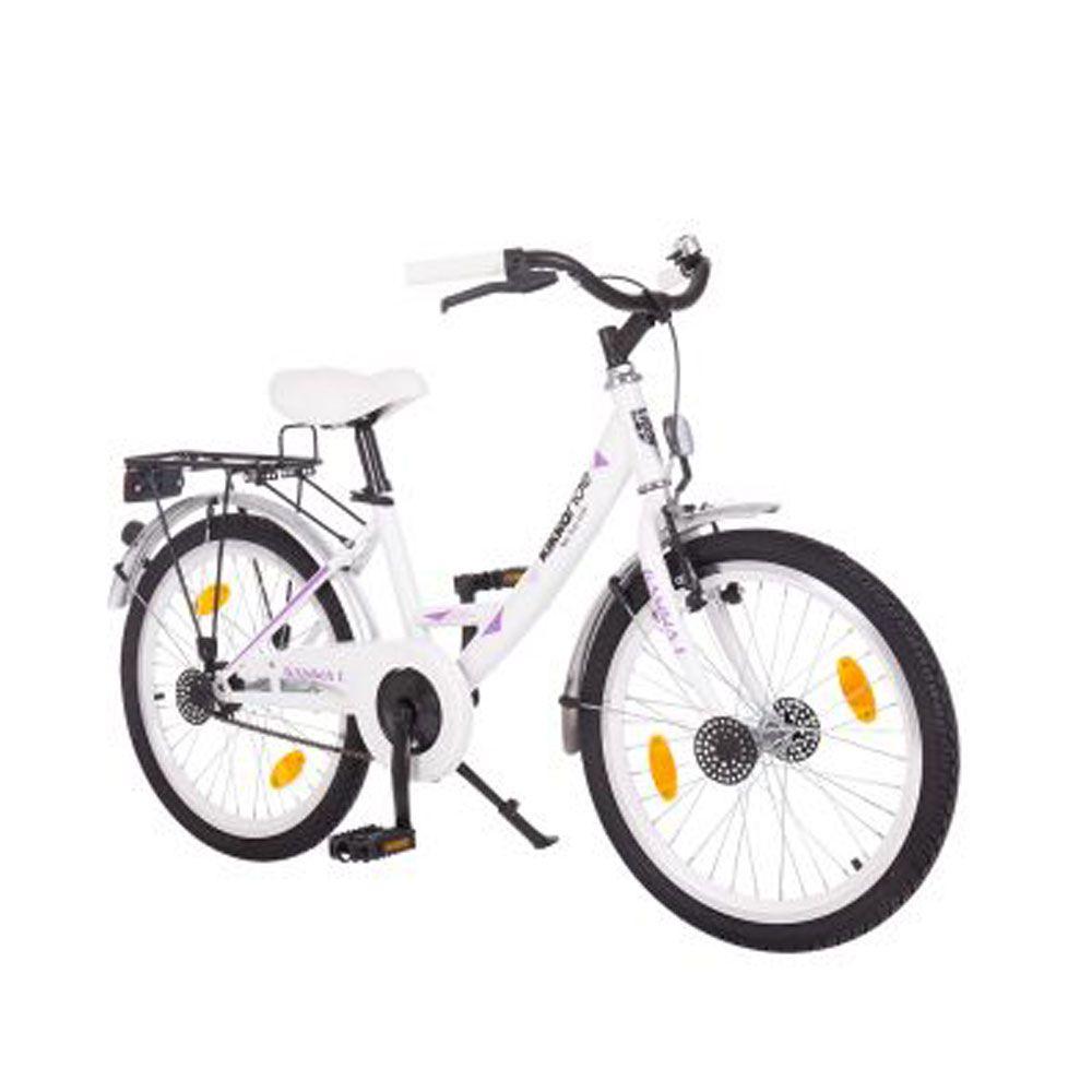 Bicicleta Kikka Boo Wave 20 inch Signal White imagine hippoland.ro