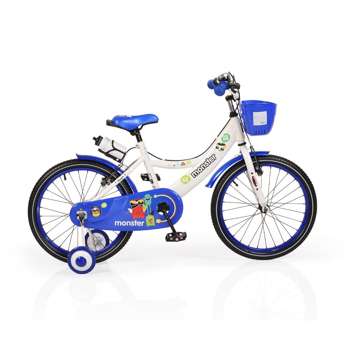 Bicicleta Moni Monster 20 Inch Blue imagine hippoland.ro
