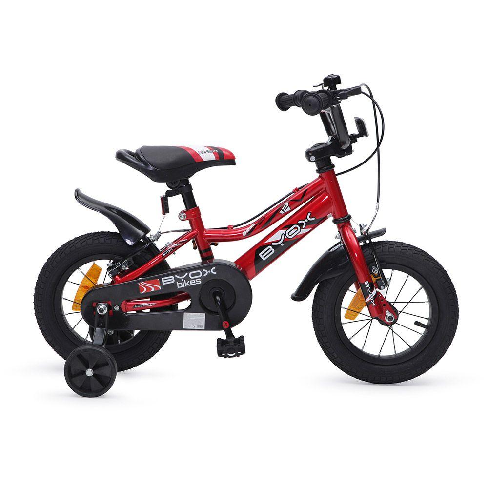 Bicicleta Moni Prince 12 inch Red imagine hippoland.ro