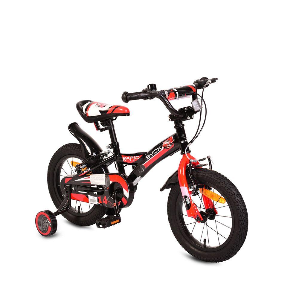 Bicicleta Moni Rapid 14 inch Black imagine hippoland.ro
