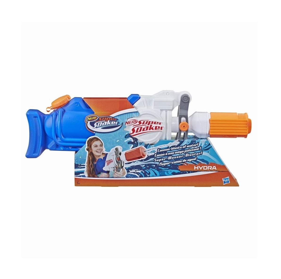 Blaster cu apa Hasbro Nerf Super Soaker Hydra imagine hippoland.ro