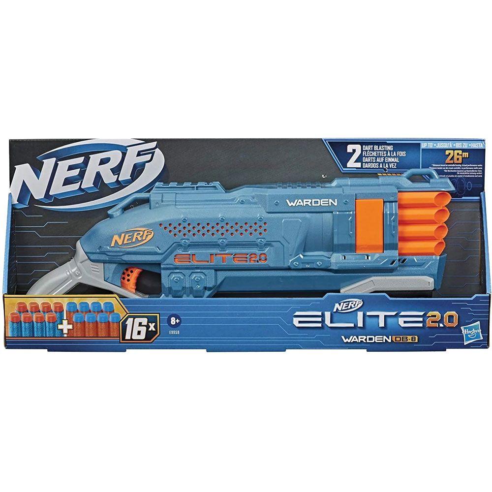 Blaster Hasbro Nerf Elite 2.0 Warden DB-8