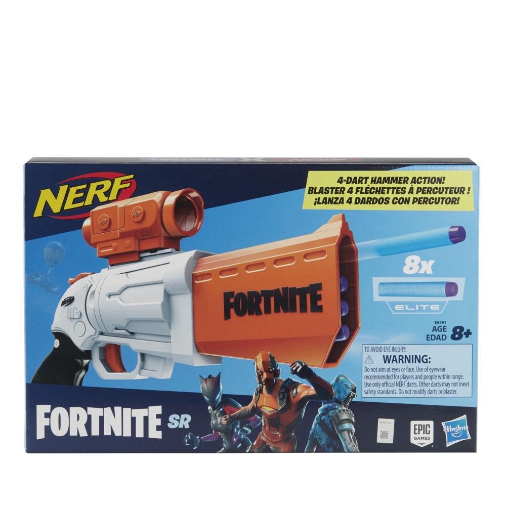 Blaster Hasbro Nerf Fortnite SR imagine hippoland.ro