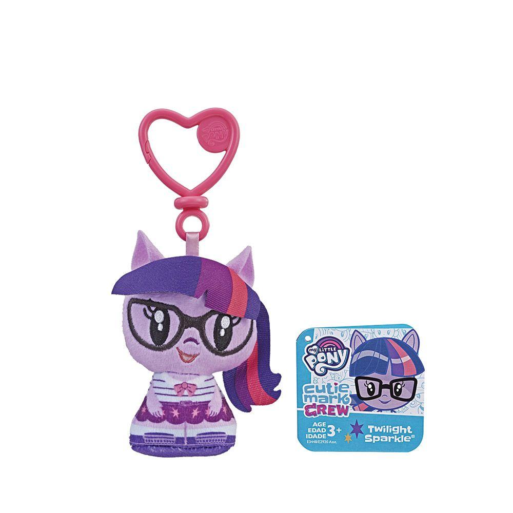 Breloc de plus Hasbro My Little Pony Cutie Mark Crew imagine hippoland.ro