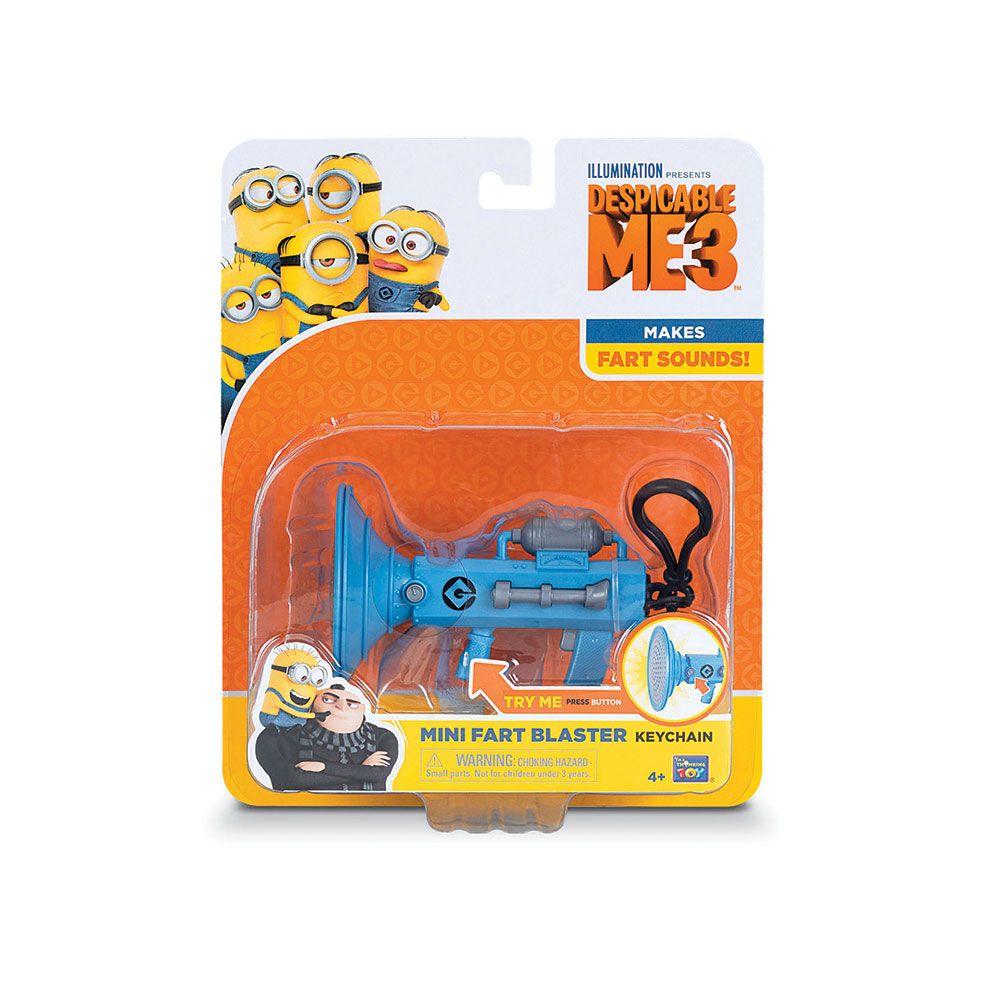 Breloc Despicable Me 3 Mini Fart Blaster imagine hippoland.ro