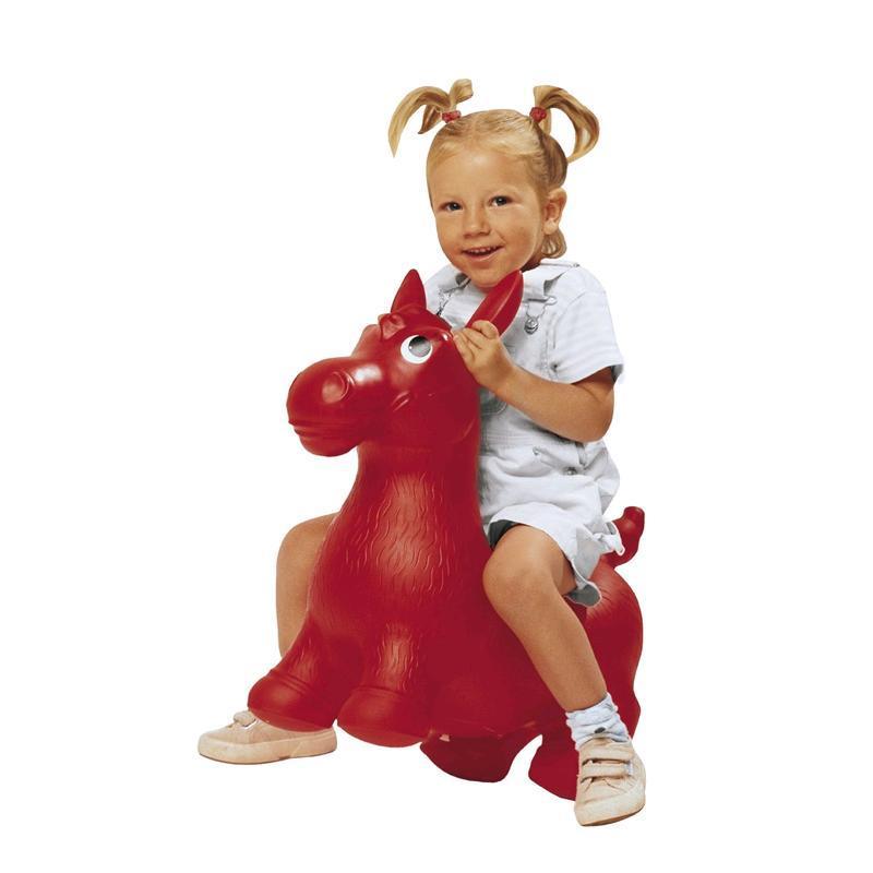 Calut gonflabil de sarit Hip Ho Pony imagine hippoland.ro