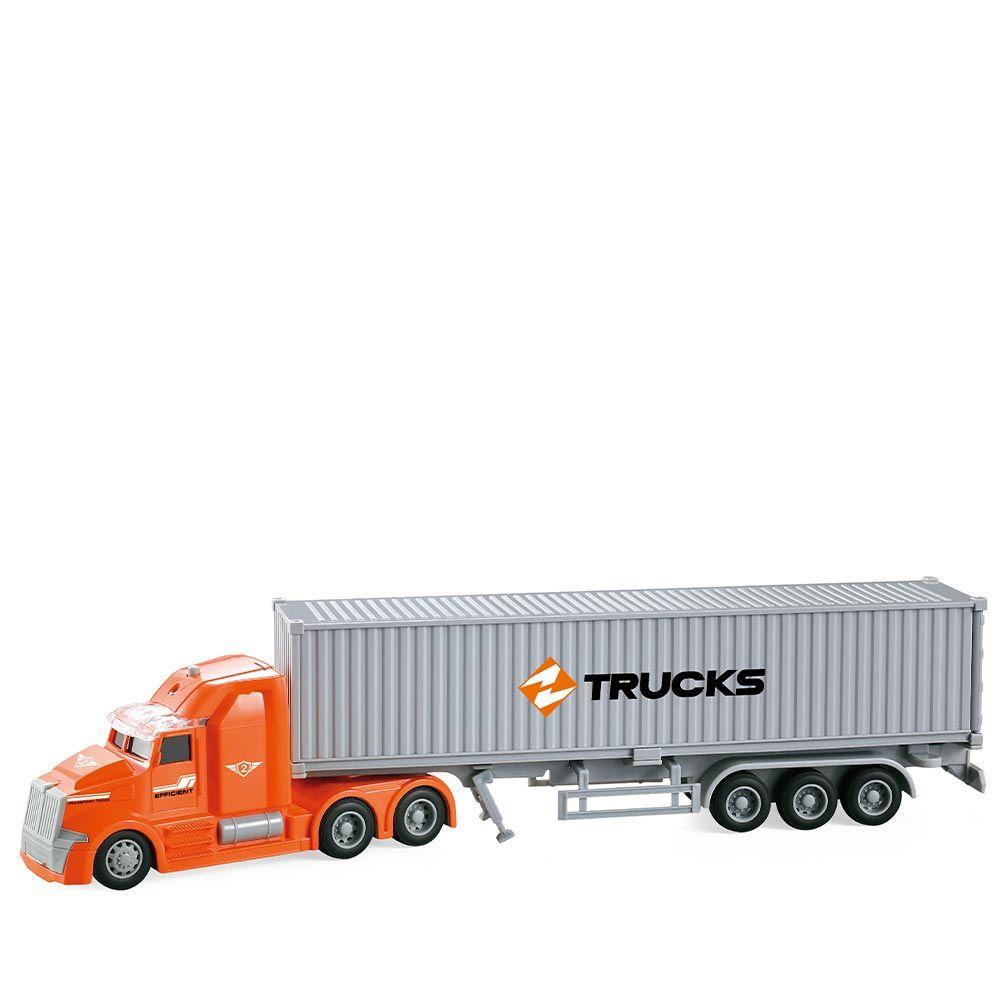 Camion cu container City Service 1:50 imagine hippoland.ro