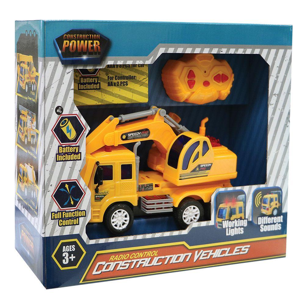 Camion de constructie cu telecomanda Ocie imagine hippoland.ro