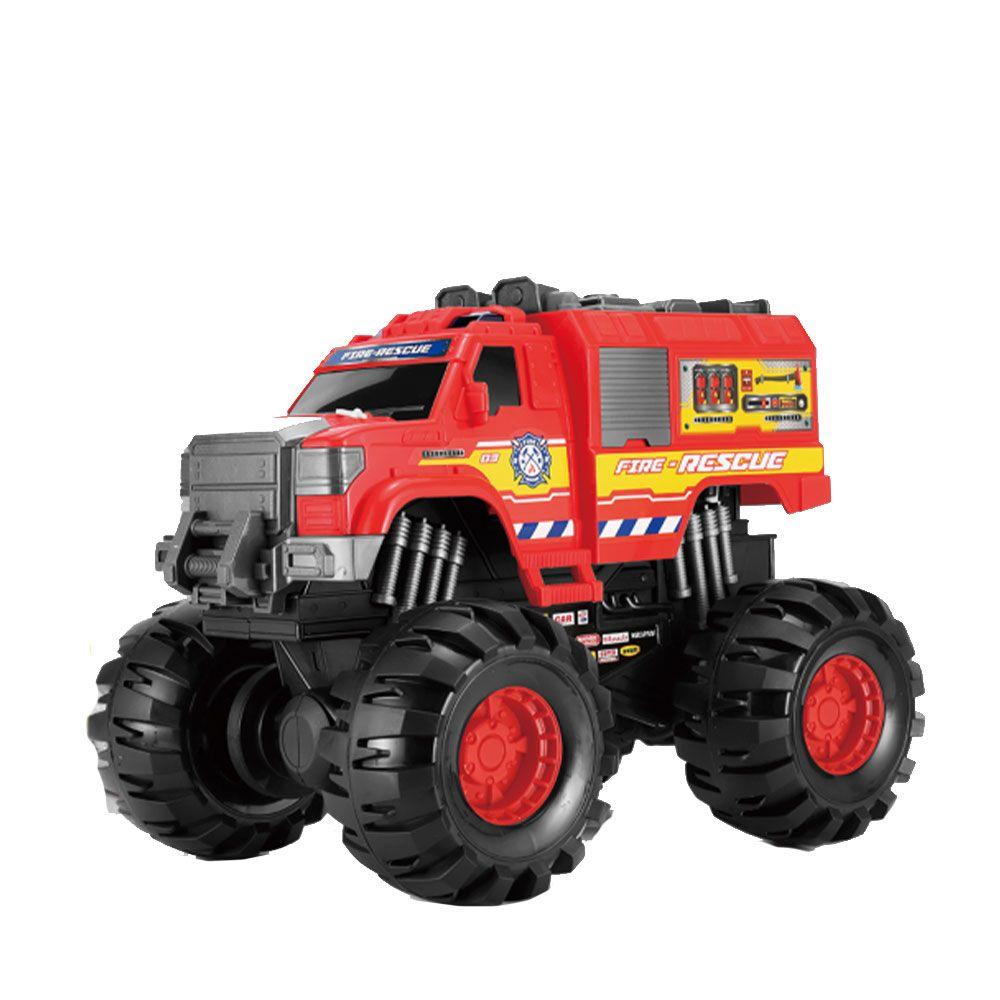 Camion de pompieri Asis Monster Truck 1:8 imagine hippoland.ro