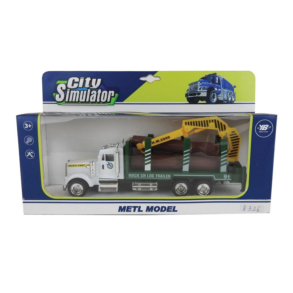 Camion ecologic City Simulator imagine hippoland.ro