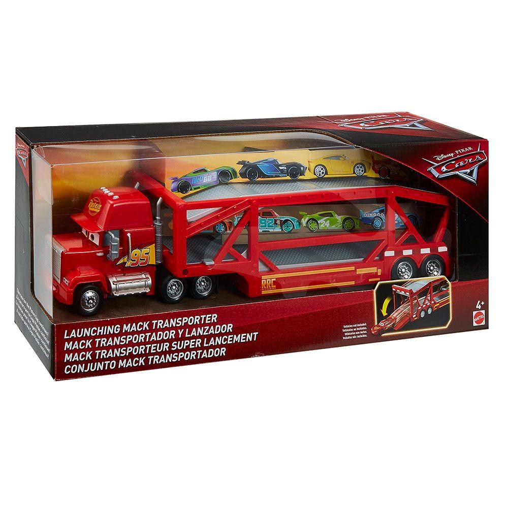 Camion transportator Cars Mack imagine hippoland.ro