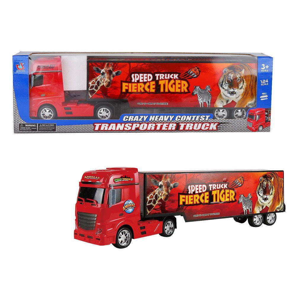 Camion transportator Crazy Heavy Contest imagine hippoland.ro