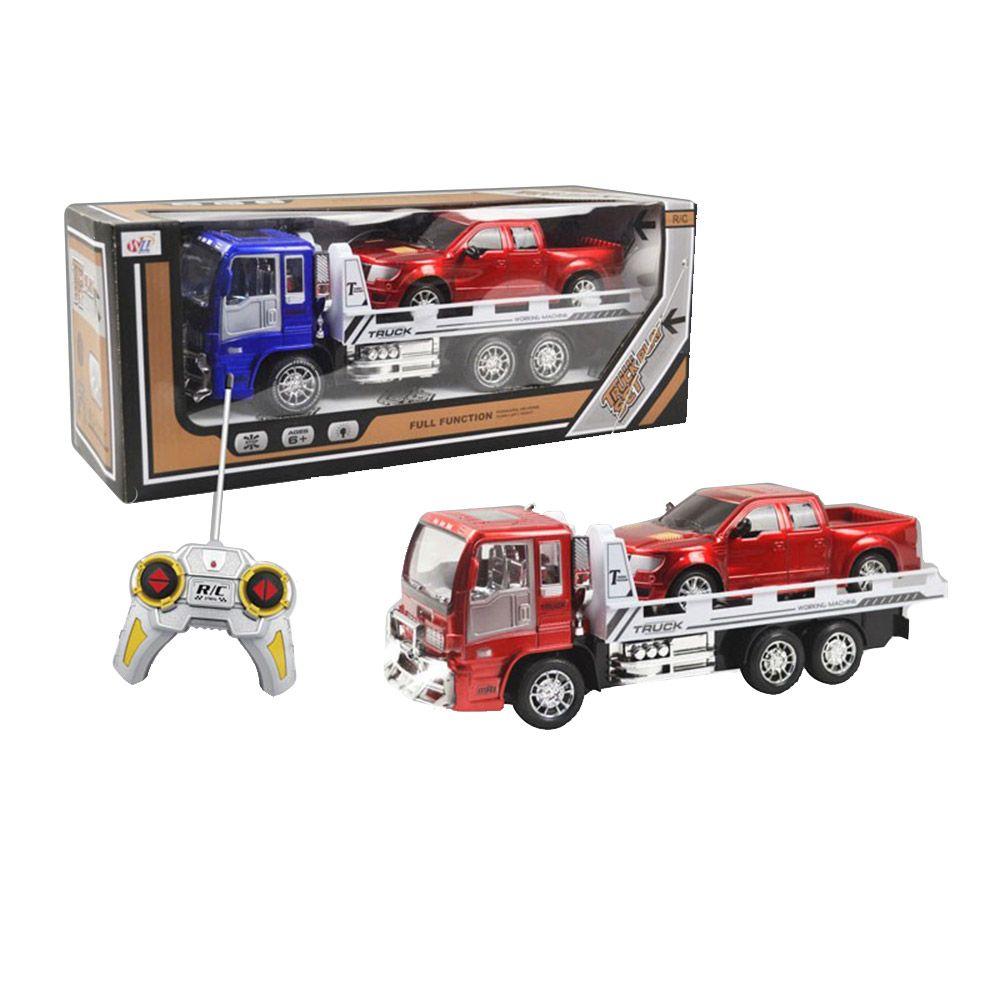 Camion transportator cu telecomanda si masinuta High Power imagine hippoland.ro