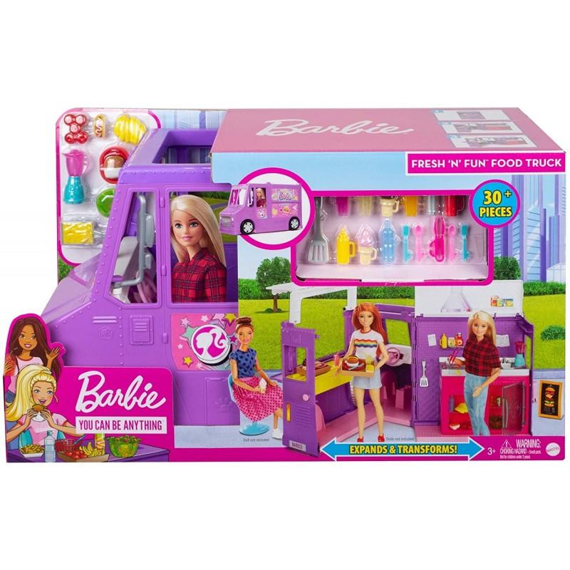 Camionul de mancare Barbie imagine hippoland.ro