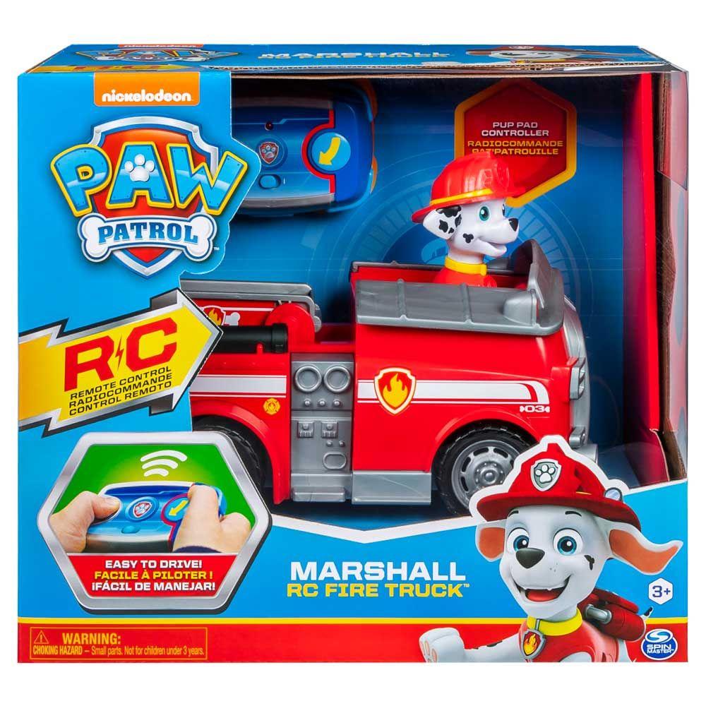 Camionul de pompieri a lui Marshal cu telecomanda Paw Patrol imagine hippoland.ro