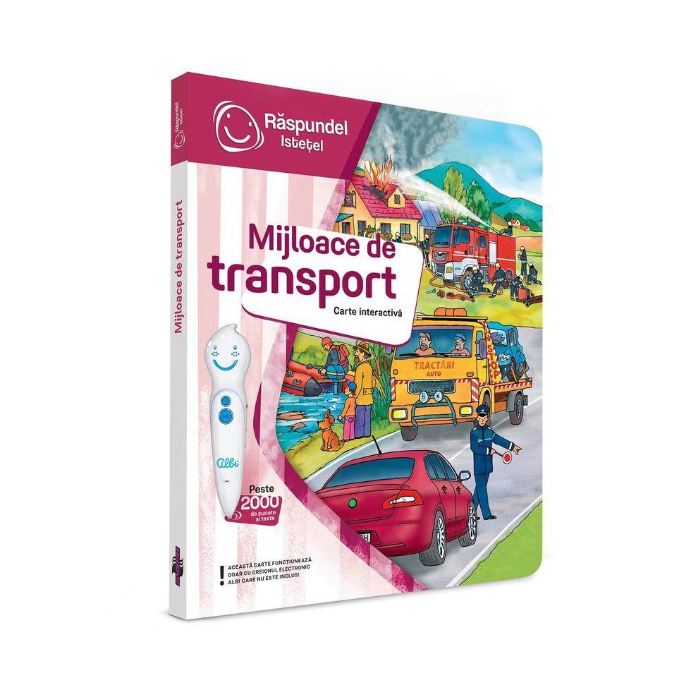 Carte Raspundel Istetel Mijloace de transport imagine hippoland.ro
