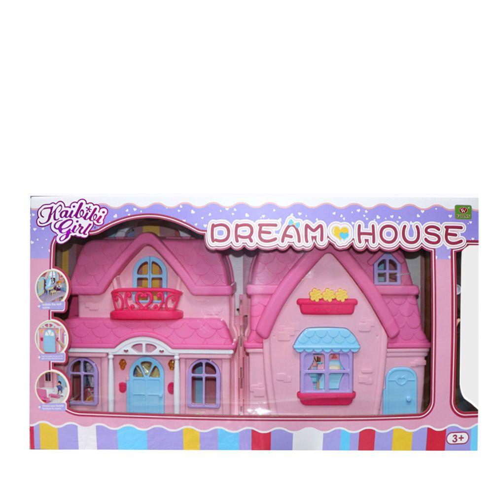 Casa cu papusi si mobila Ocie Dream House imagine hippoland.ro