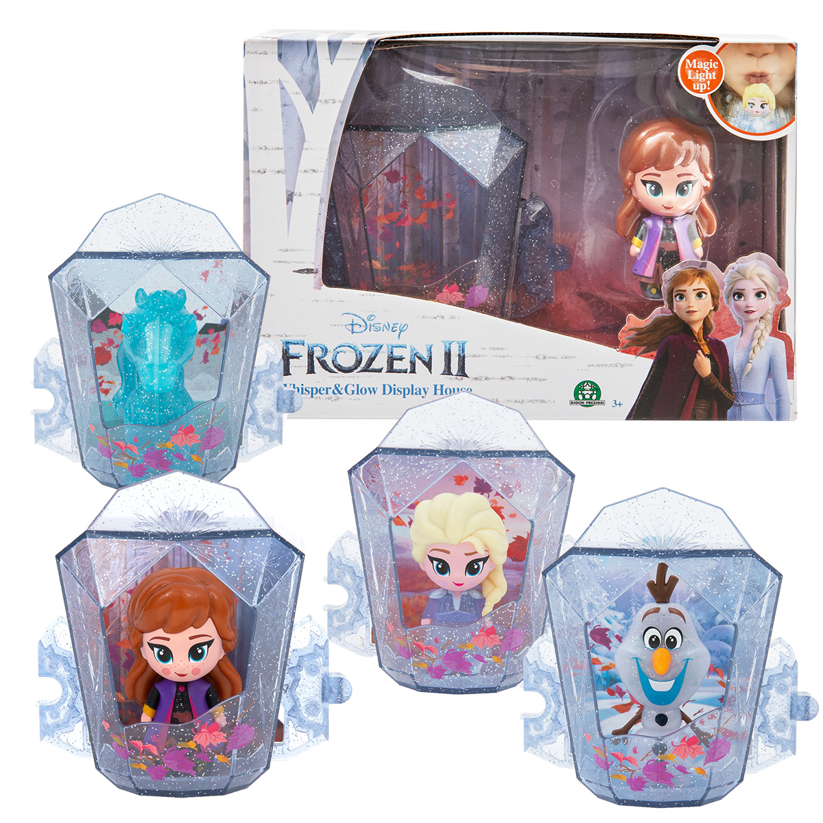 Casuta cu figurina Frozen 2 Whisper And Glow imagine hippoland.ro