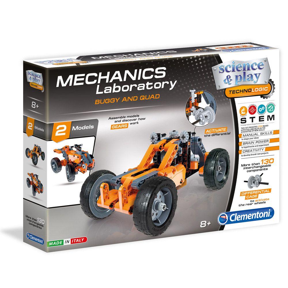 Clementoni Mechanics Laboratory Buggy and Quad imagine hippoland.ro