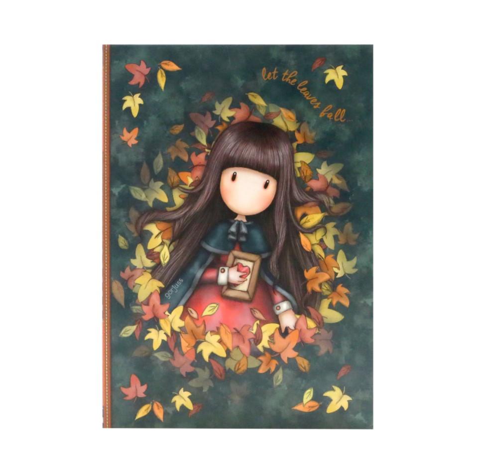Clip Pad cu rechizite Gorjuss Autumn Leaves imagine hippoland.ro