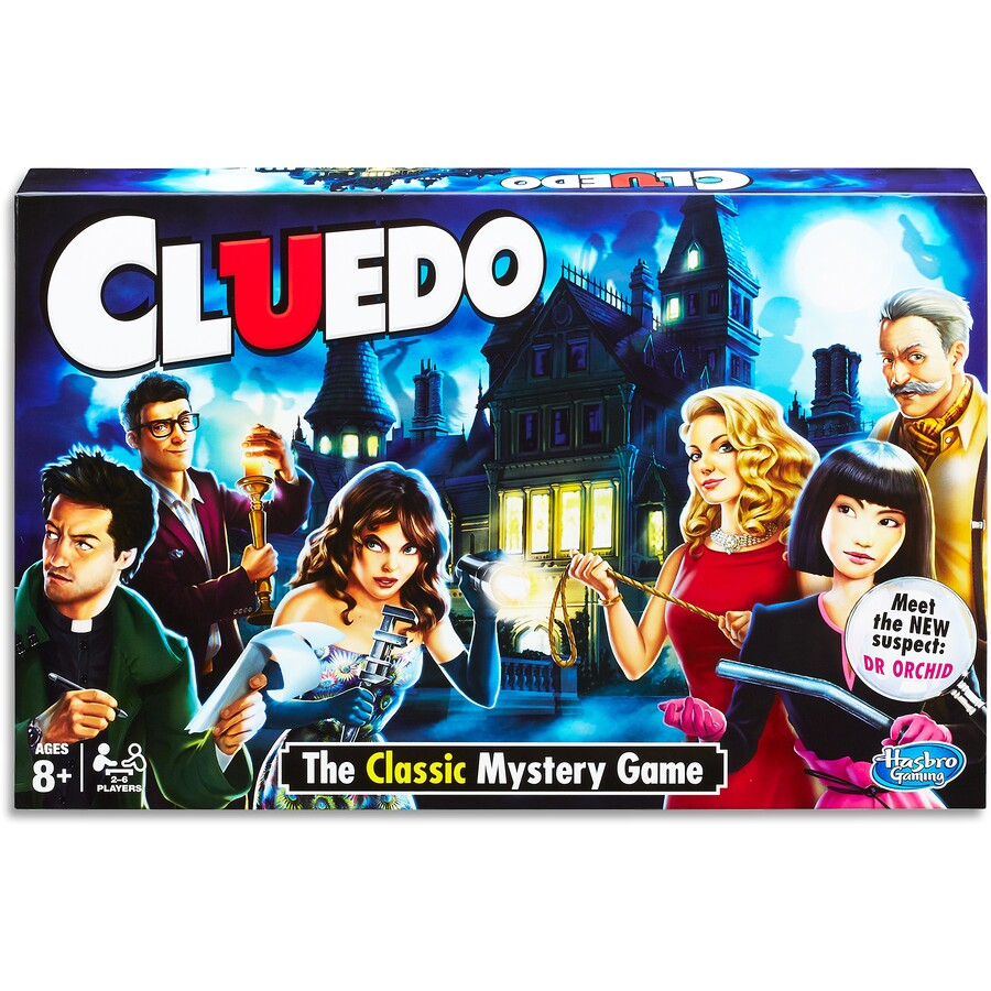 Joc Clasic Hasbro Cluedo