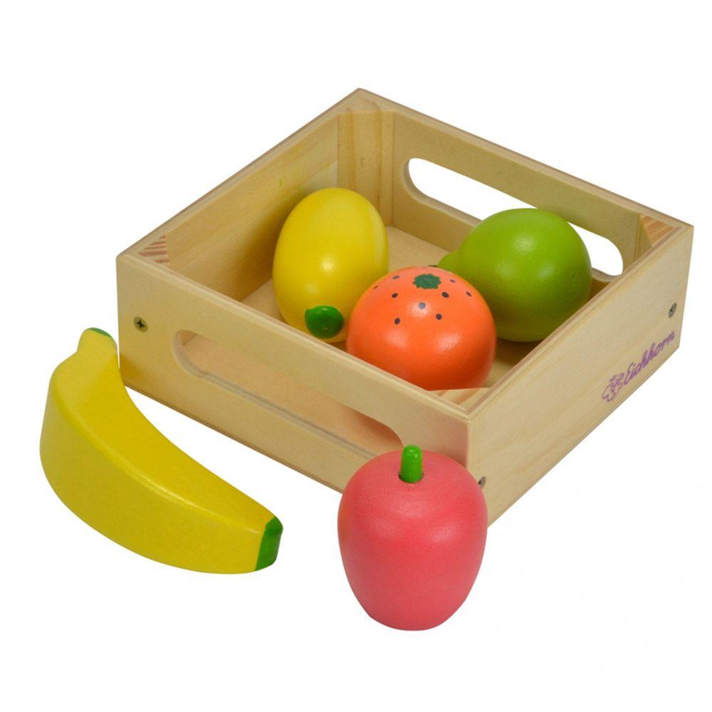 Cutie cu fructe de lemn Eichhorn imagine hippoland.ro