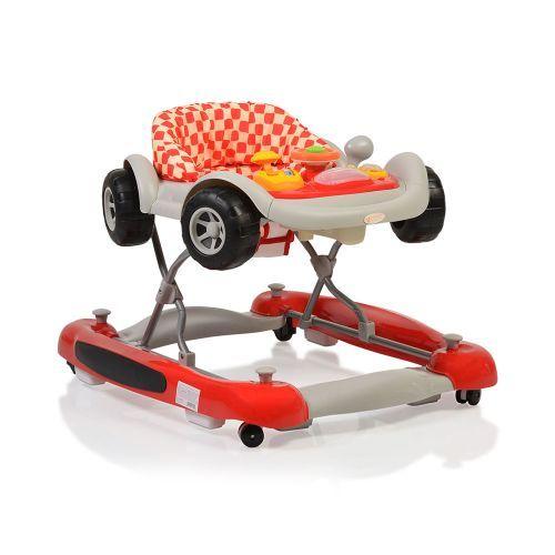 Premergator cu balansoar Cangaroo Car Red