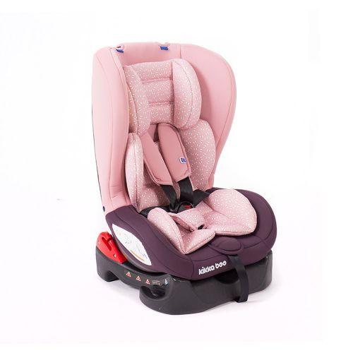 Scaun auto Kikka Vitange butterfly dark pink 0-18 kg