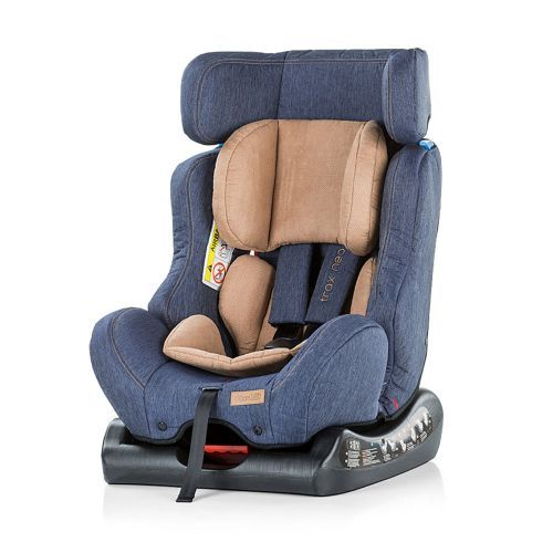 Scaun auto Chipolino Trax Neo blue jeans 0-25 kg