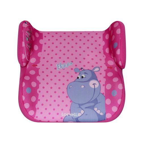 Scaun auto Lorelli Topo Comfort pink Hippo 15-36 kg