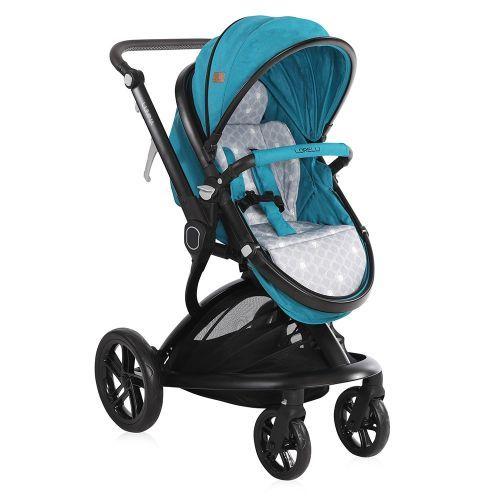 Carucior combinat Lorelli Lumina 2019 dark blue