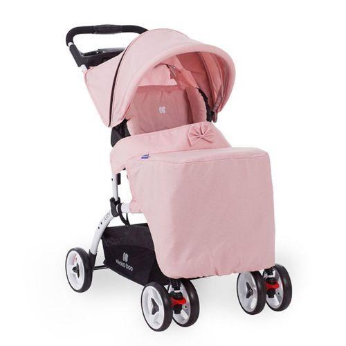 Carucior de vara Kikka Airy 2019 pink melange