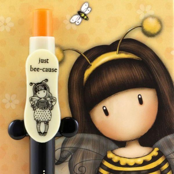 Agenda cu pix Gorjuss Bee Loved