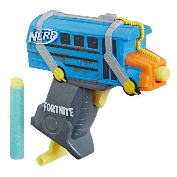 Blaster Hasbro Nerf Fortnite Micro Shots Micro Battle Bus