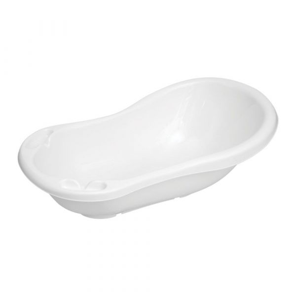 Cadita de baie 84 cm Lorelli white