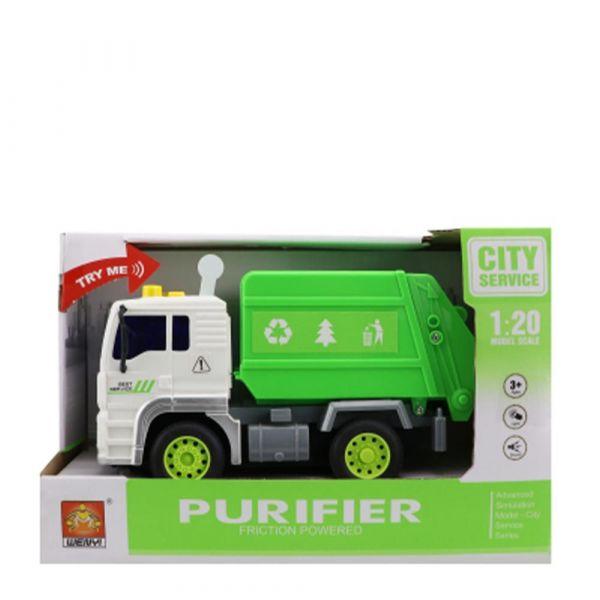Camion de gunoi City Service 1:20